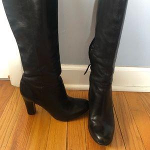 Sam Edelman tall knee black boots